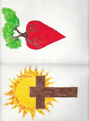 Cross  Heart by coffeecrazy1958