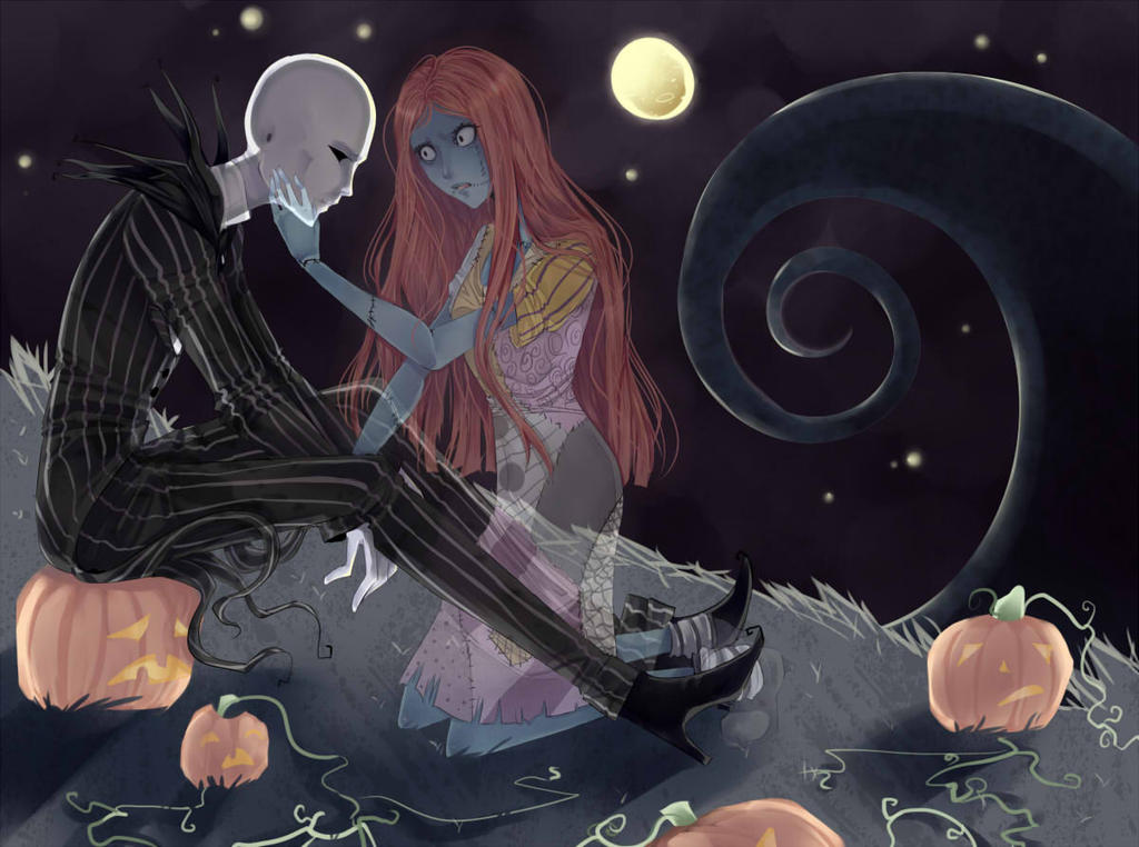 Nightmare Before Christmas: Jack and Sally-See Me by Kaia-tan on ...