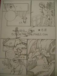 my manga.. lol13 by kara-sam