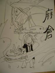 asakura yoh. by kara-sam