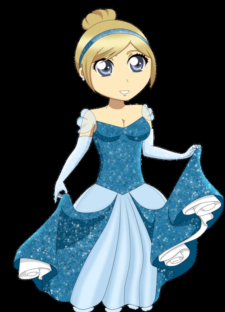 Sop as disney princess (Cinderella) by RedxNana