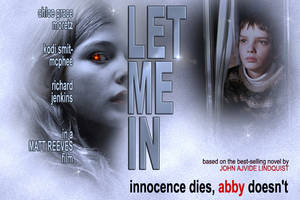 'Let Me In' Poster art redux by David-Zahir