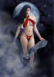 Another Vampirella Poster by David-Zahir