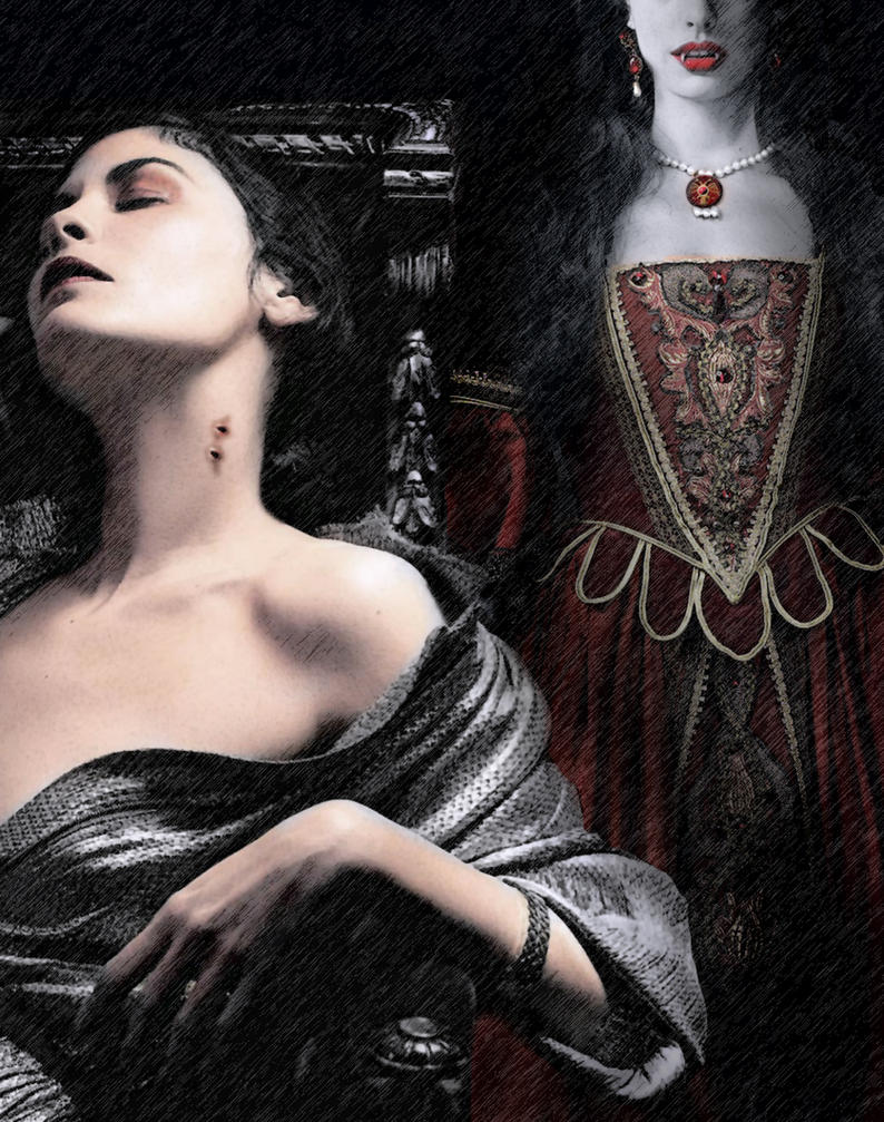 'The Blood Countess by David-Zahir
