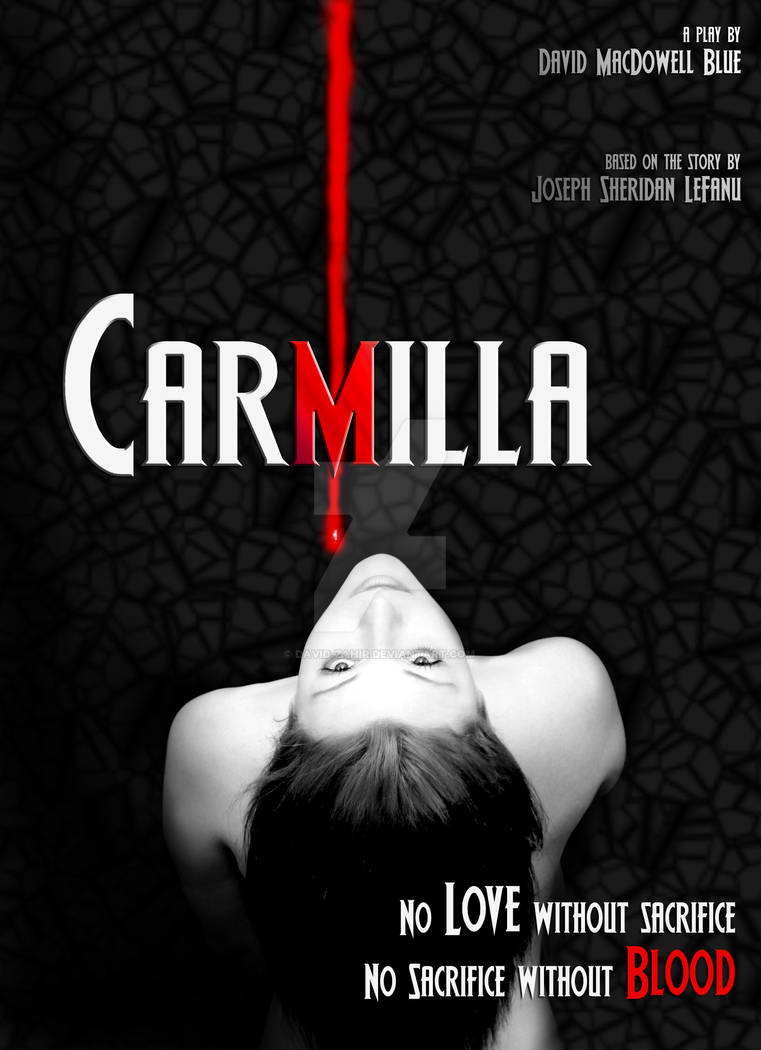Poster design for my CARMILLA