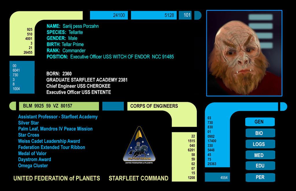 Commander Sariij of Tellar Prime by David-Zahir