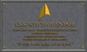 Resgistry USS WITCH OF ENDOR