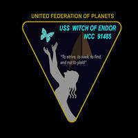 USS Witch of Endor Patch by David-Zahir