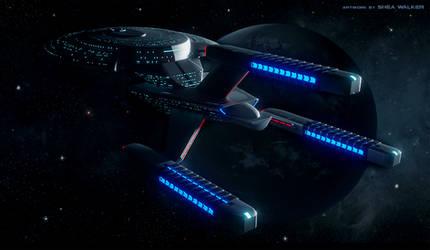 USS.Pioneer by David-Zahir