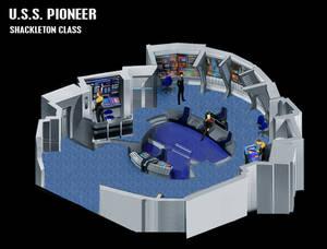 USS Pioneer Bridge