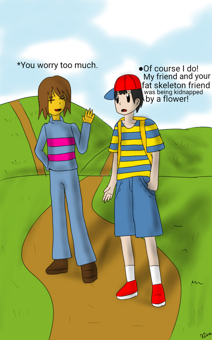 EarthBound X Undertale Crossover by GerdiTwin on DeviantArt