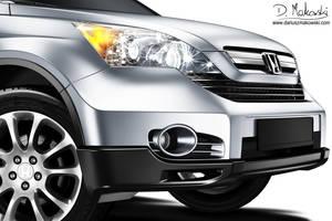 Honda CR V Close up by D4D4L