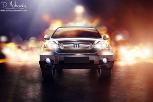 Honda CR-V Dead Front Glosy by D4D4L