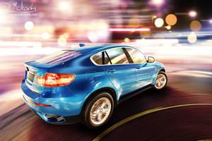 BMW X6 Rear Shot by D4D4L