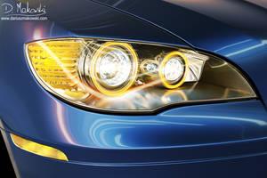 BMW X6 Head Lights by D4D4L
