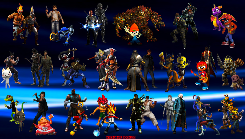 Twisted metal wallpaper characters