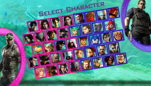 Ubisoft vs Capcom - My Roster
