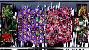 Marvel vs Capcom - My Roster (Version 2)