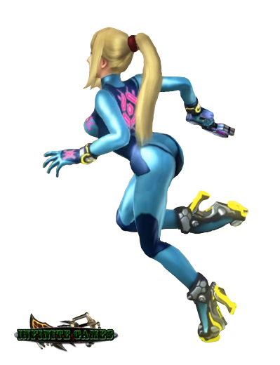 Zero Suit Samus (Super Smash Bros for WiiU) Render by ...