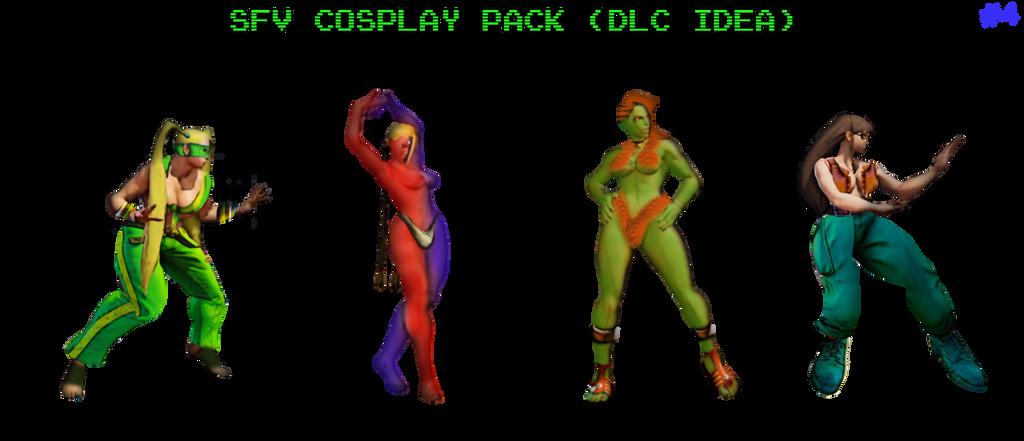 cosplay Street laura fighter v