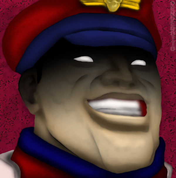 M. Bison (Street Fighter) by DENDEROTTO