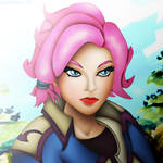 Maeve (Paladins) by DENDEROTTO