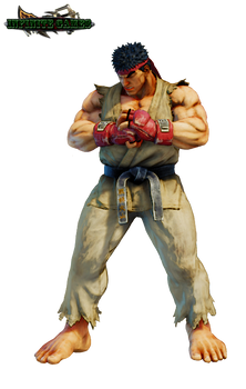 Ryu (Street Fighter V) Render