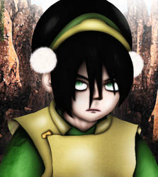 Toph (Avatar) by DENDEROTTO