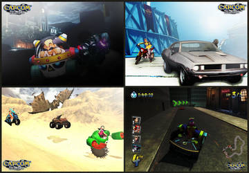 Capcom Racers (Concept) by DENDEROTTO