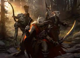 Tuk Tuk Grunts - Magic the Gathering by Michael-Bierek