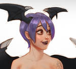 Lilith Fanart - Face Detail by batsammich