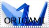 Origami Stamp:. by USA-FilipinoArtista
