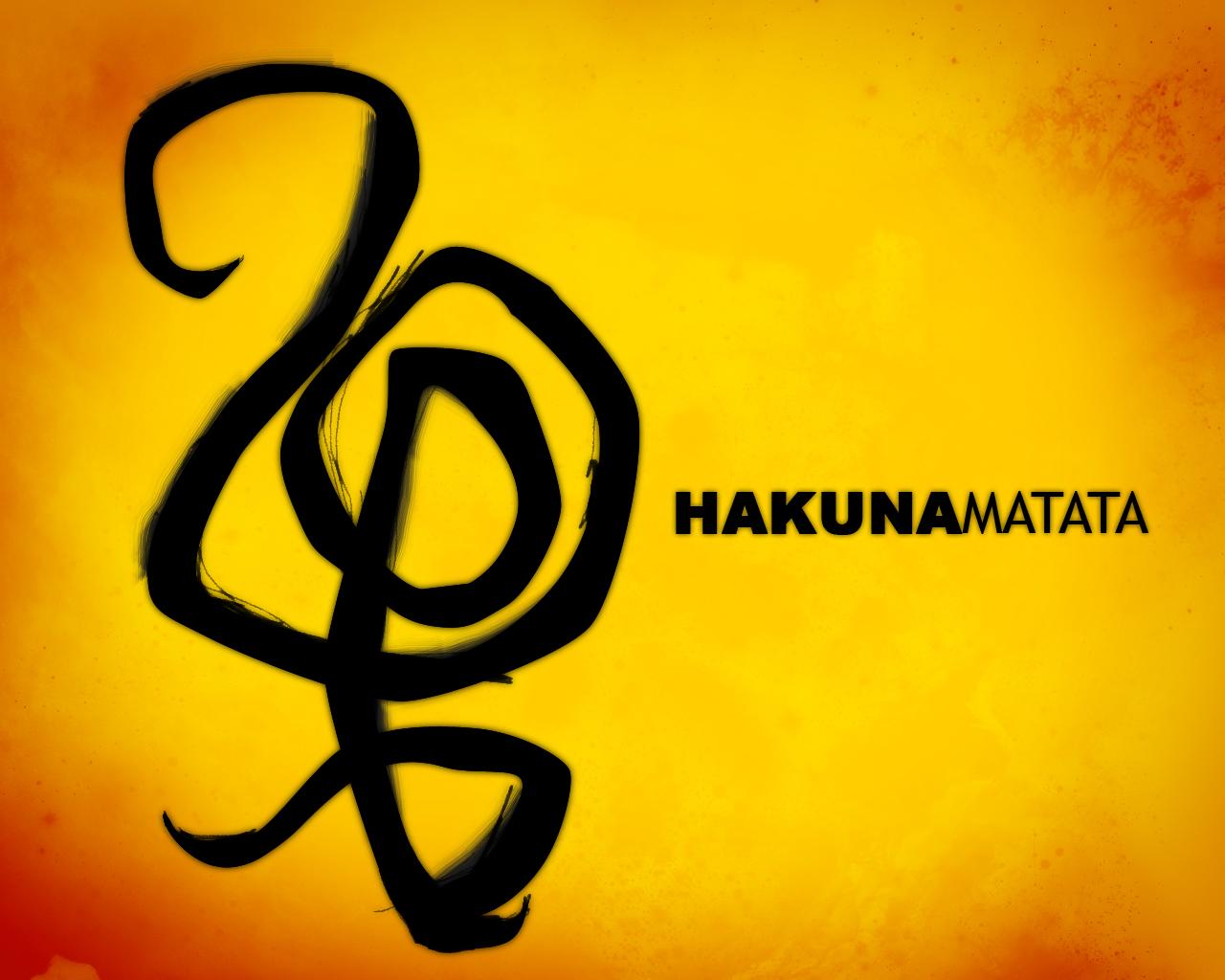 Hakuna Matata by harajukumattHakuna Matata Symbol