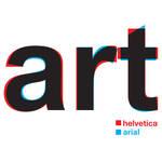 Helvetica vs Arial