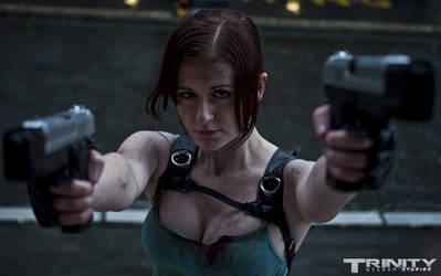 Lara Croft: TR Underworld cosplay