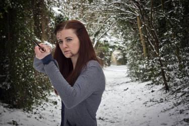 Ginny Weasley Battle of Hogwarts cosplay