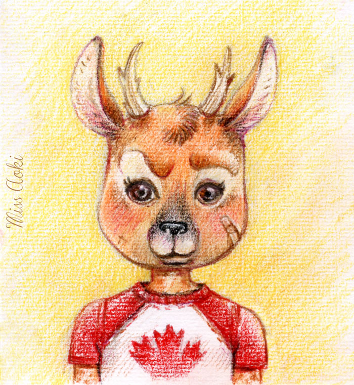 Fawn by lauramissaoki