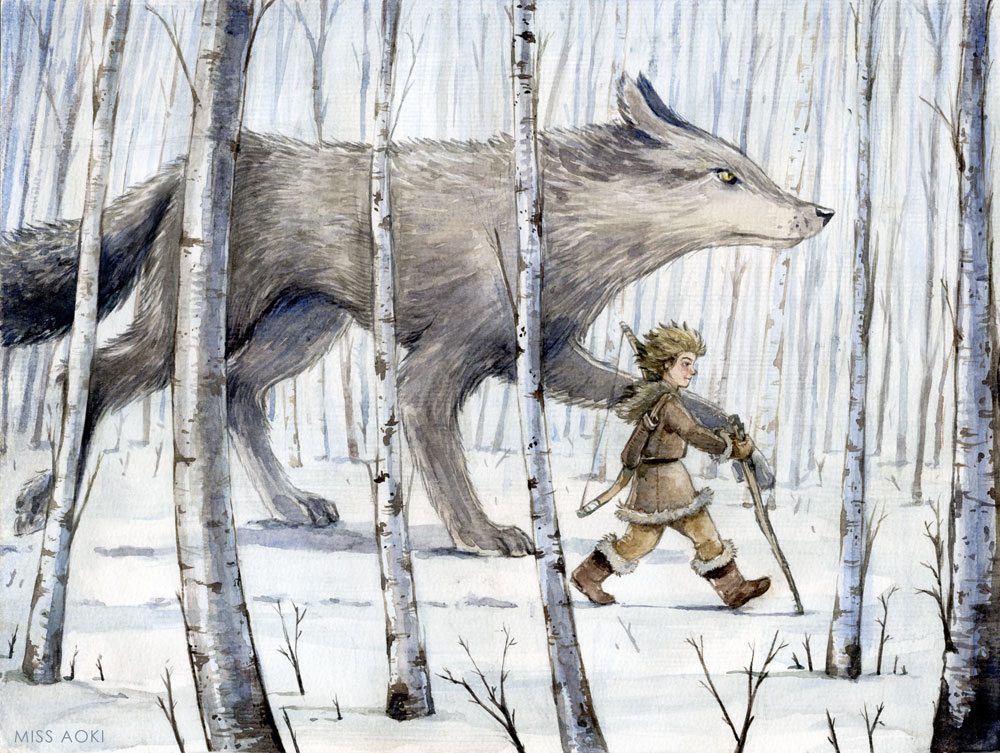 Peter and the wolf by lauramissaoki