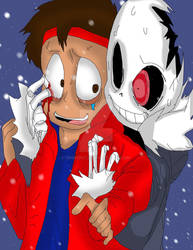 Me and horror Sans