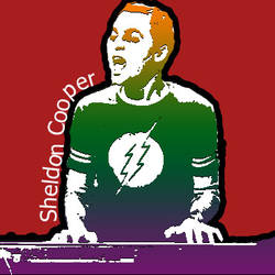 sheldon is singing by 00cheily00