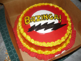 the big bang theory cake by 00cheily00