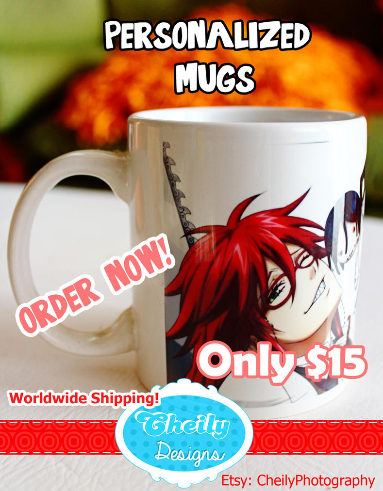 Personalized Mugs. Order yours now! by 00cheily00