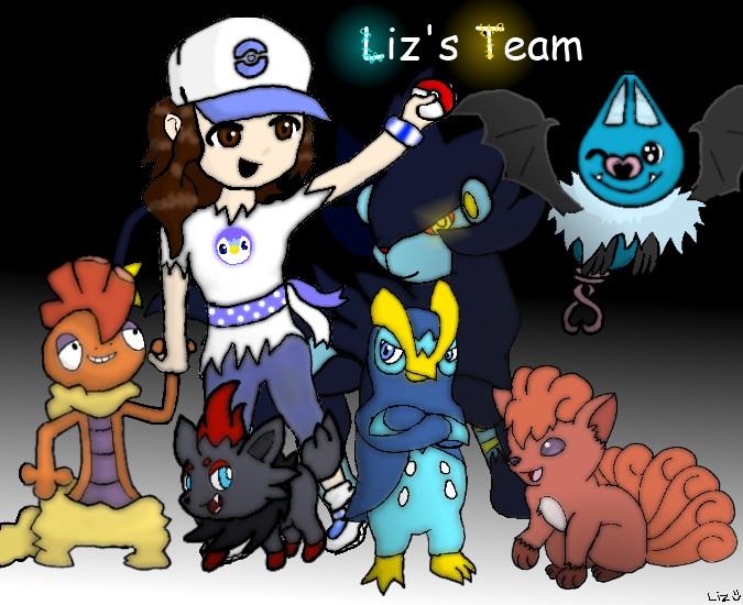 Pokemon Trainer by wafflegirl117
