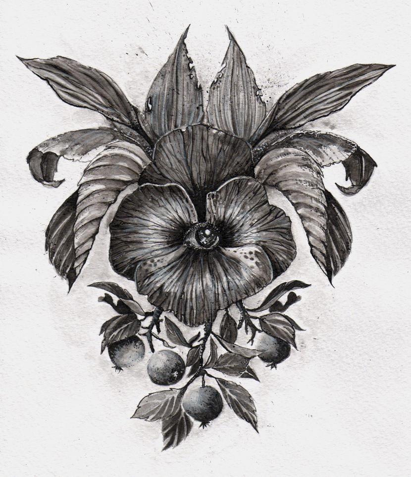 Optic flower by Gebefreniya