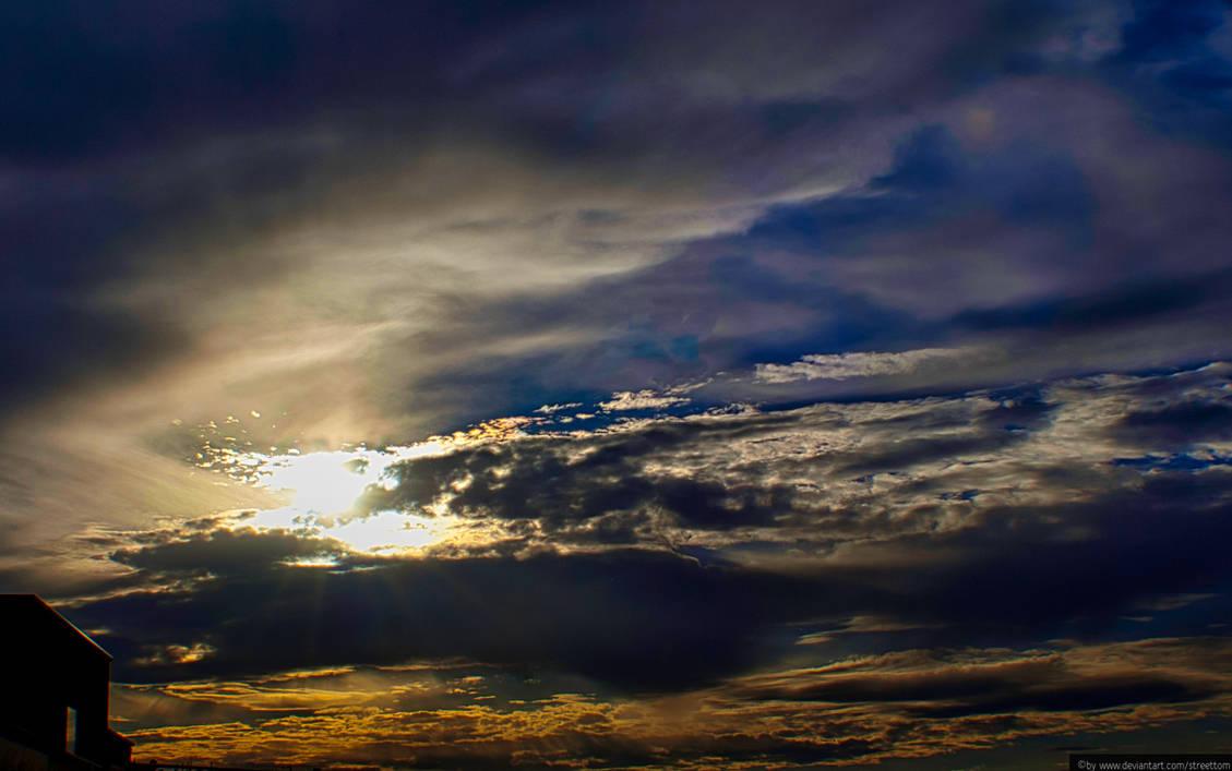Blue Sunrays