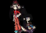Kyuke Neyla and Evoka