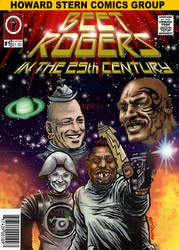 Beet Rogers Comic Book Cover by mattjacobs