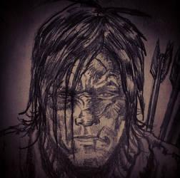 Daryl Dixon ~ Walking Dead by mattjacobs