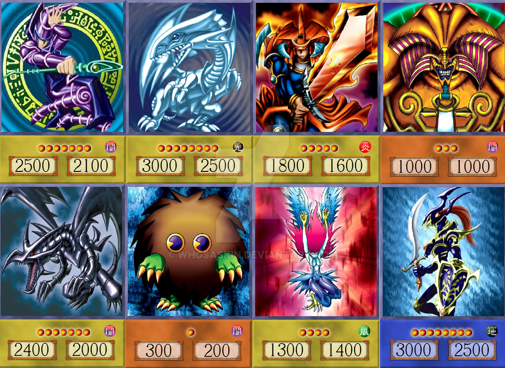 yugioh anime cards main mosaic by whosaskin on deviantart