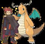 Lance and Dragonite